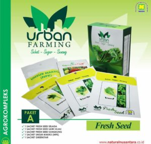 Isi paket A urban farming nasa