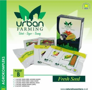 Isi paket B Urban Farming nasa