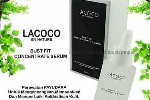 KEMASAN LACOCO BUST FIT CONCENTRATE SERUM TAHUN 2020