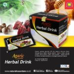 Manfaat Agaric Herbal Drink Nasa Yang Asli