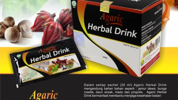 Komposisi Utama Agaric Herbal Drink Nasa Yang Asli